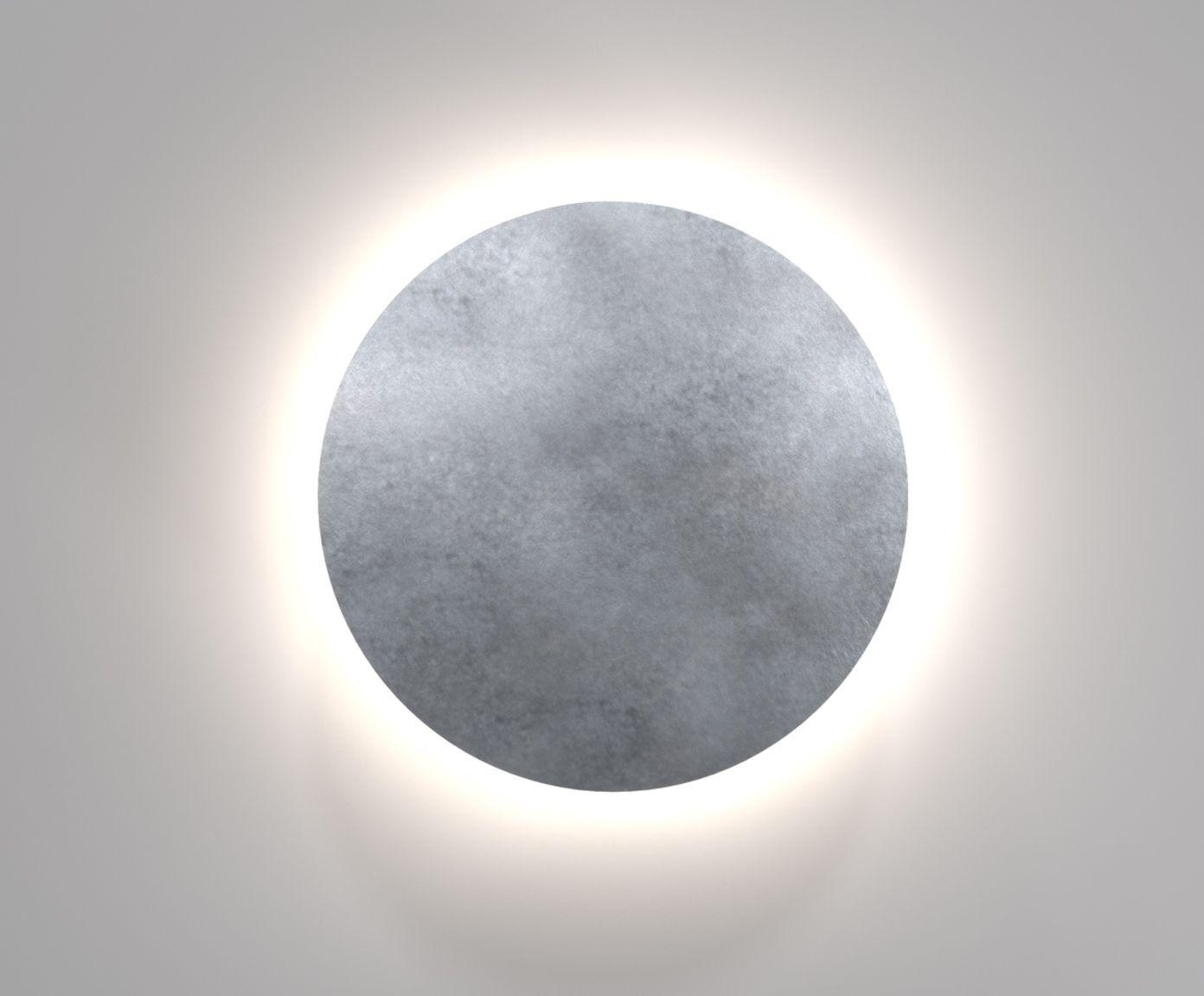 Aus Kunststoff In Silver Metallic Westwingnow Wandleuchte Led Wandleuchten Aussenwandbeleuchtung