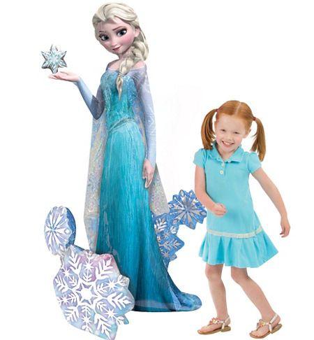 Giant Gliding Frozen Elsa Balloon 57in Party City 2nd Birthday