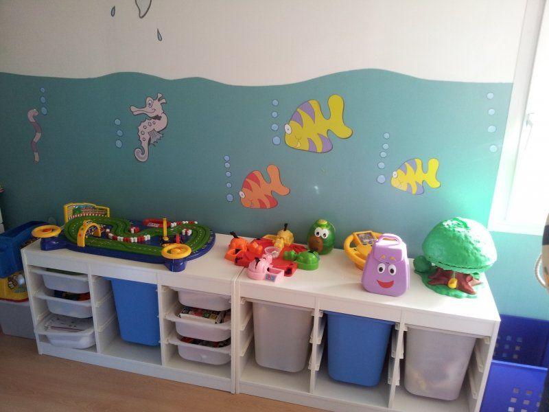 chambre enfant de 4 ans th me mer d co pinterest rangement jouet marie claire maison et. Black Bedroom Furniture Sets. Home Design Ideas
