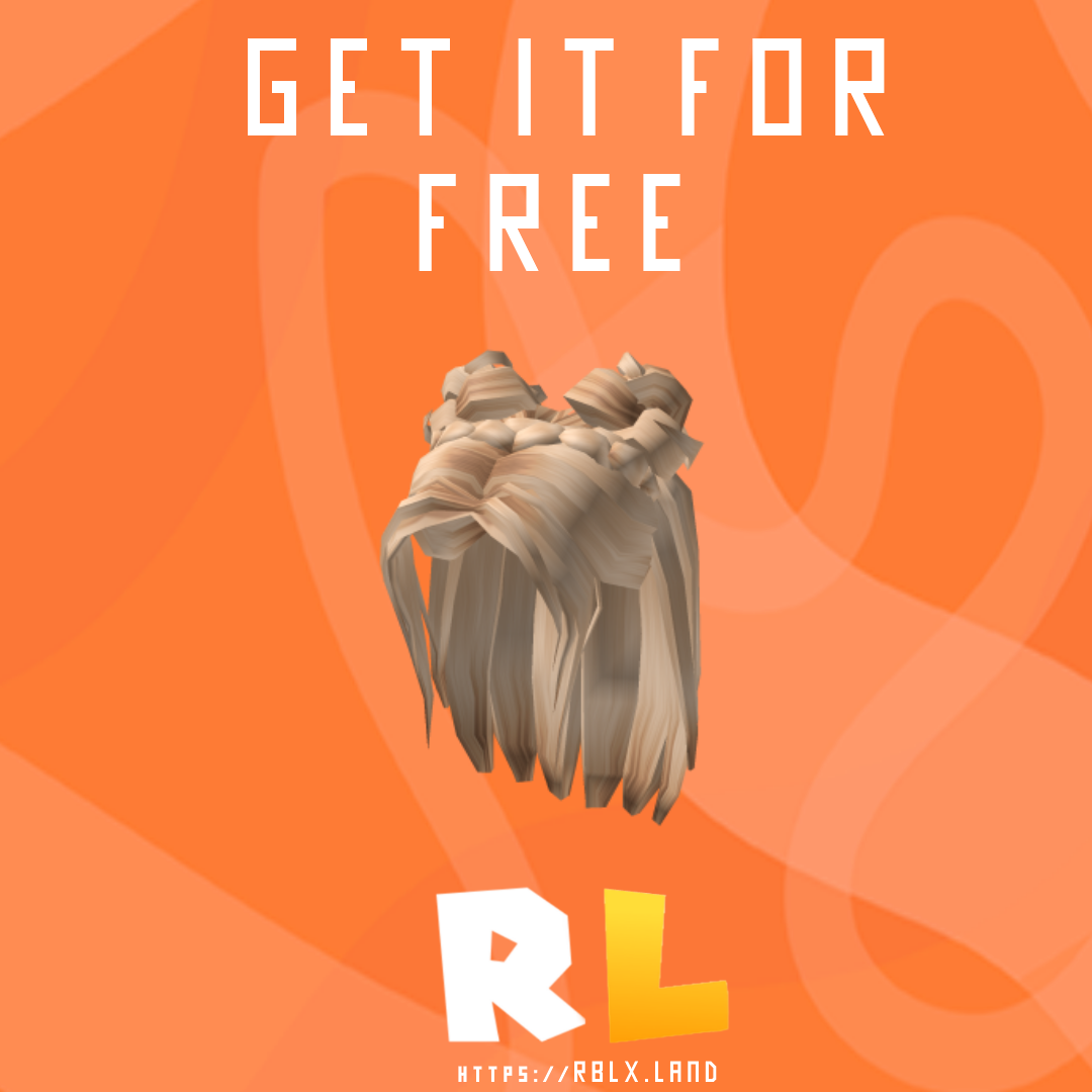 Get It For Free Roblox Platinum Space Bun Braid In 2020 Roblox How To Get Braided Bun