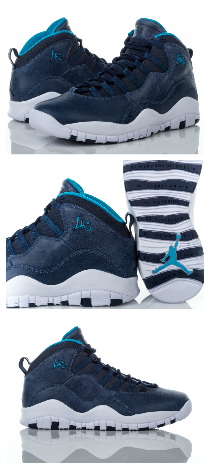 a97f1a1092a82f Look fly with this shoe inspired by the City of Angels. Get the Jordan  Retro 10  LA  now.