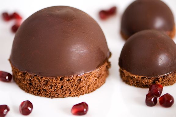 This Is A Start To Recreating The Chocolate Mousse Dome From Marie