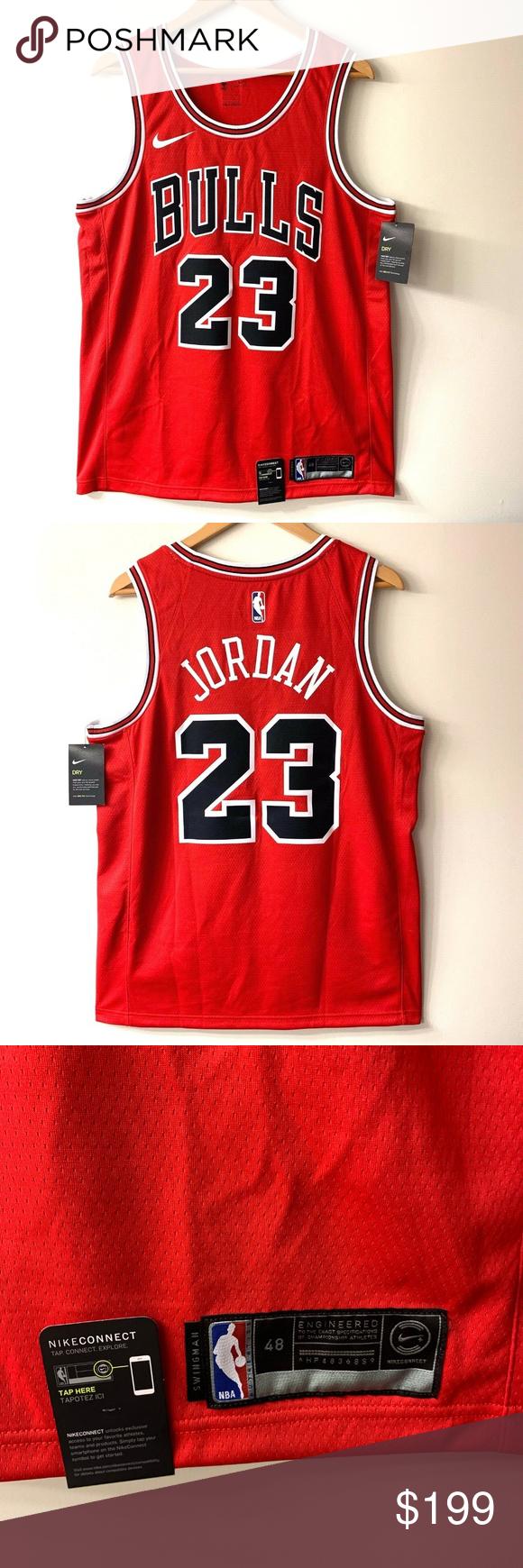 classic fit a0f1e 6569a Nike Michael Jordan Icon Edition Swingman Jersey Nike ...