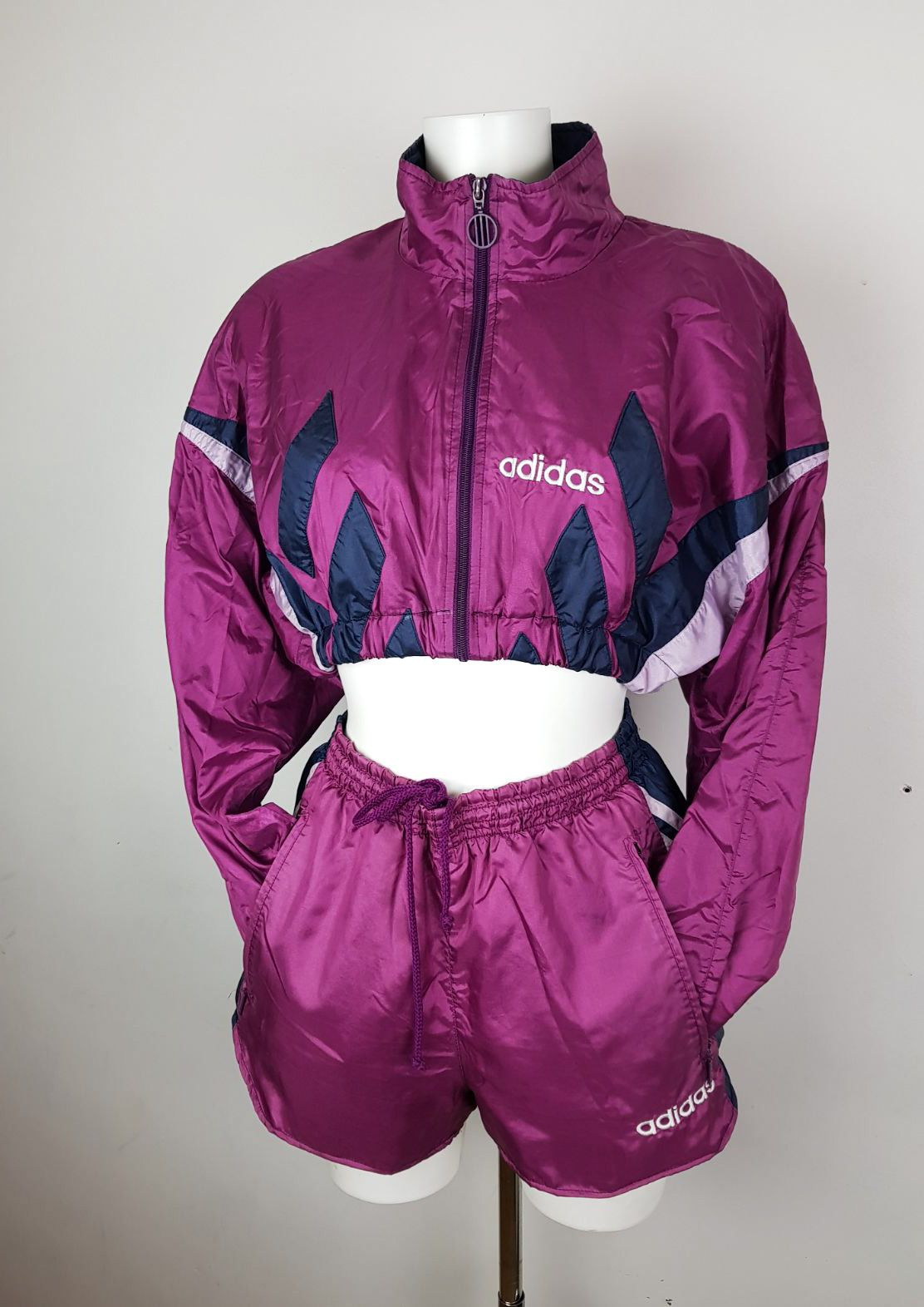 68f76bd1d59 Reworked grape shorts and crop track set  vintage  vintagetracksuit   adidastracksuit  adidas  tracksuit  purple  grape  coords  set  shortsset   purplecrop ...