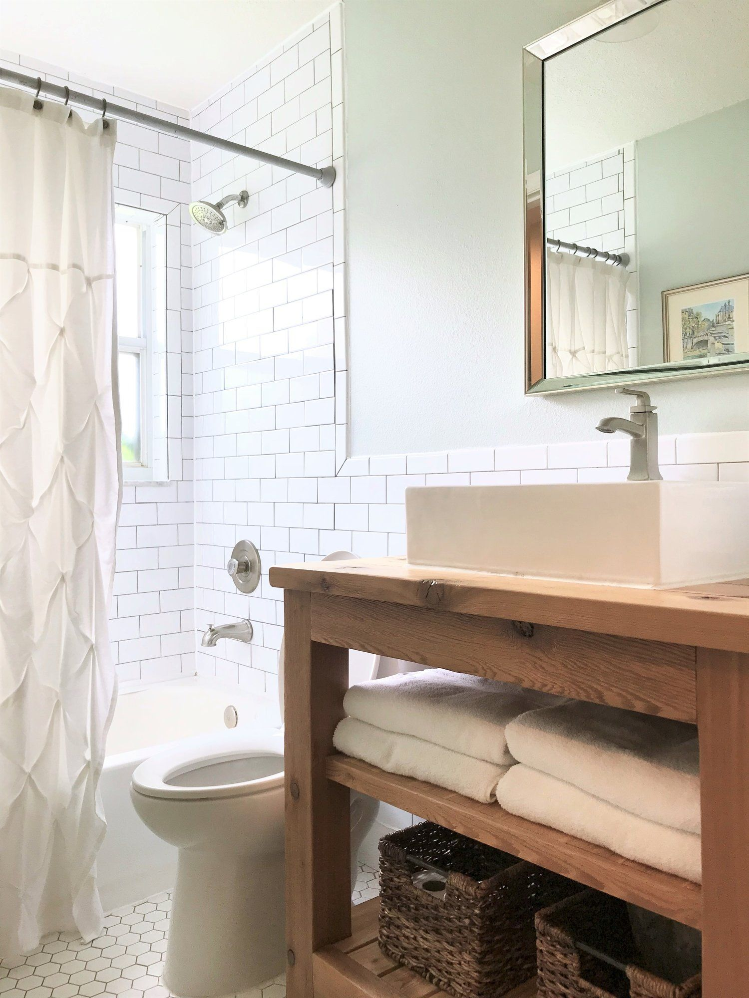 Guest Bathroom Remodel: Before and After (With images ...