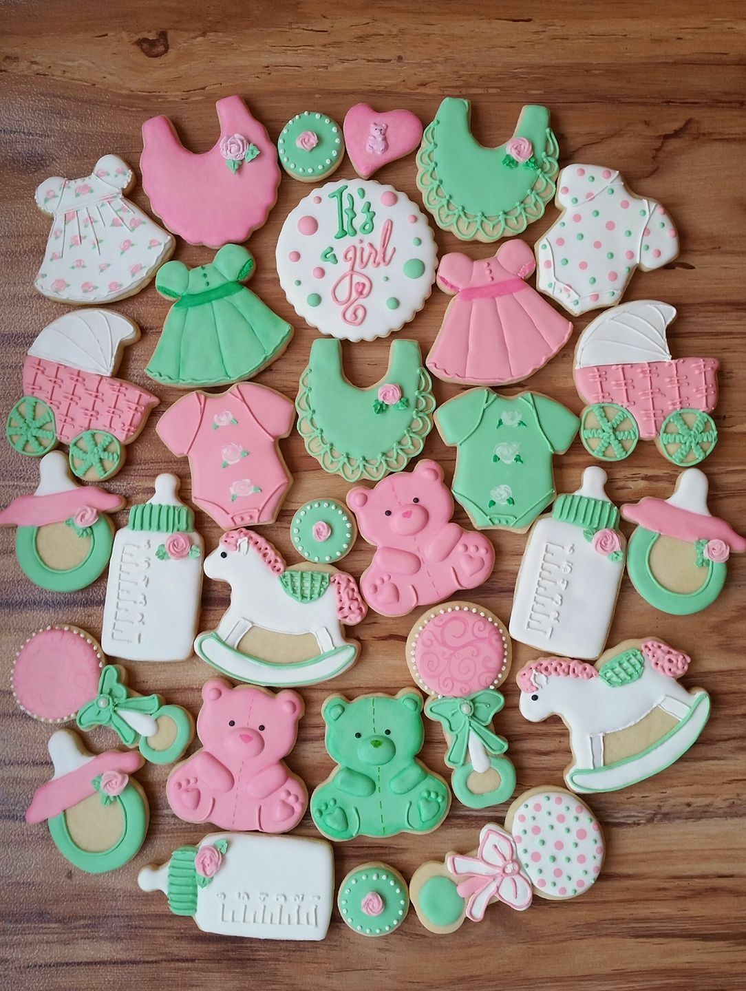Beautiful Baby Shower Cookies By Lillive Reyes Of Vanilly Pastry