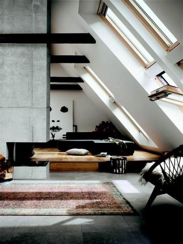 Schlafzimmer Modern Gestalten In Einer Schicken Dachwohnung