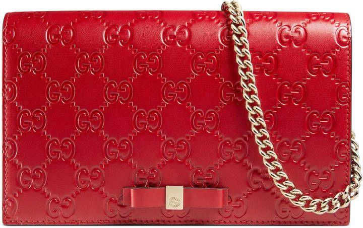 462dd5454 Gucci Signature mini bag | Products | Bags, Mini bag, Cluch bag