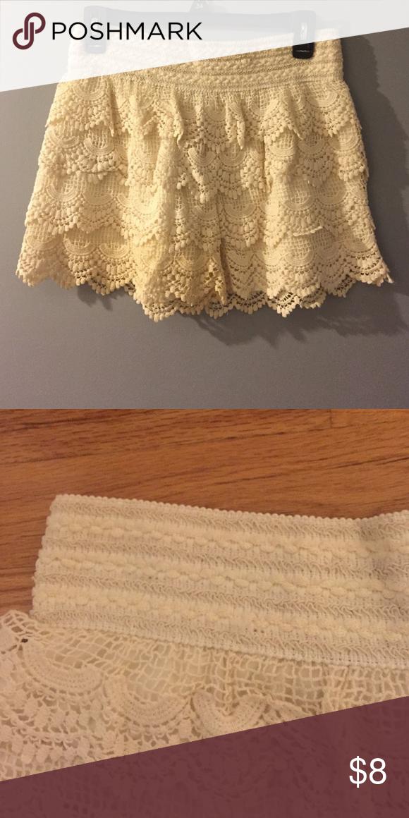 Boho lace shorts 100%cotton Shorts