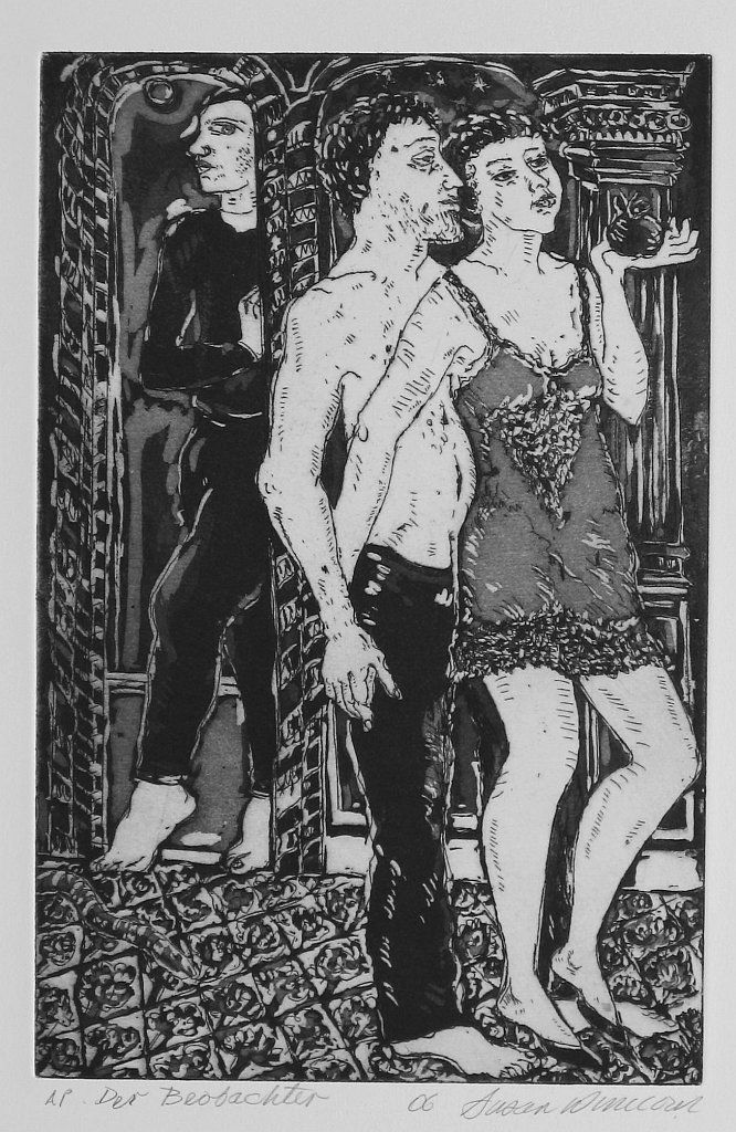 Susan Winicour etching