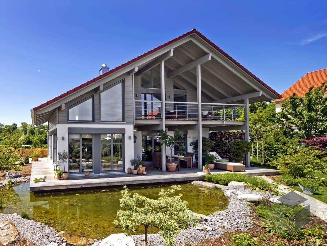 Hausbau satteldach  Landshut von Regnauer Hausbau | Klassiker | Satteldach | Häuser im ...