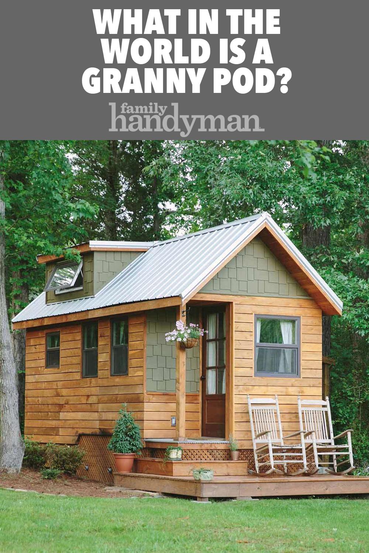 What Is A Granny Pod Backyard Cottage Granny Pod Cottage