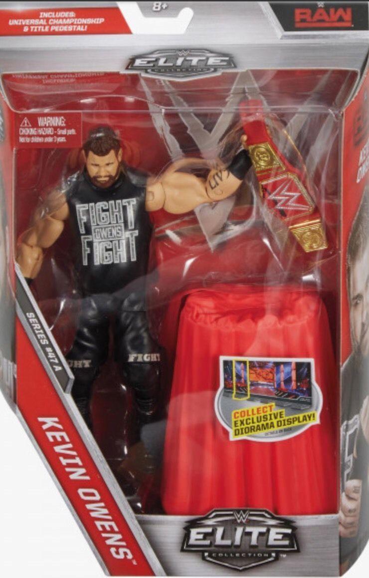 WWE Mattel Elite 41 Finn Balor WWE Figure The Demon Raw Universal Champion NXT