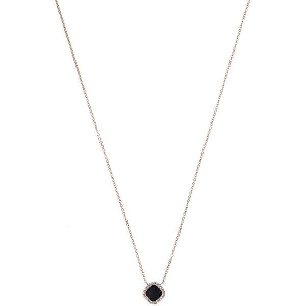 diamond ref deco art necklace yellow stud black solitaire fancy gold ctw
