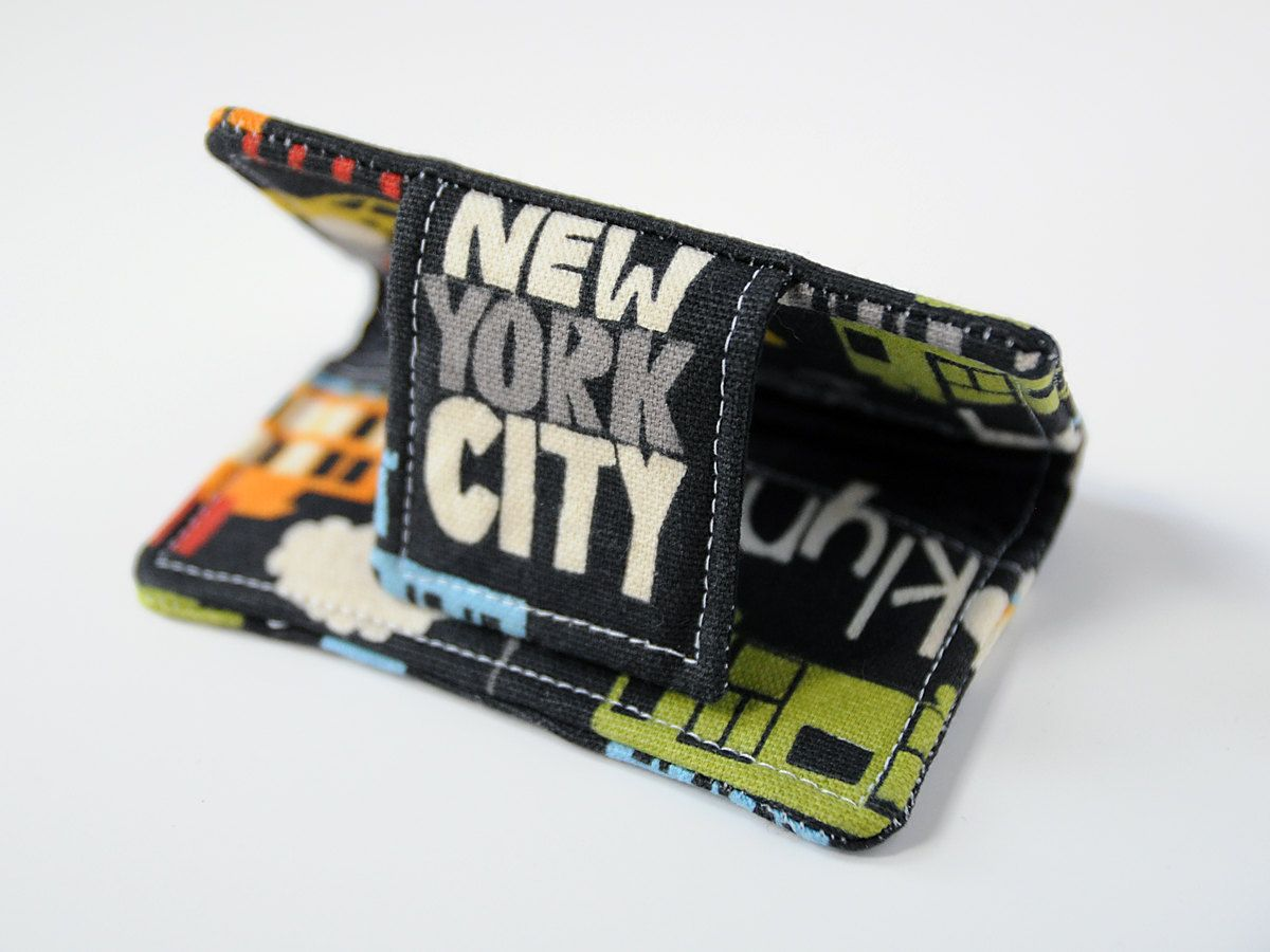 New york city mini wallet and business card case manhattan taxis new york city mini wallet and business card case manhattan taxis empire state building reheart Image collections