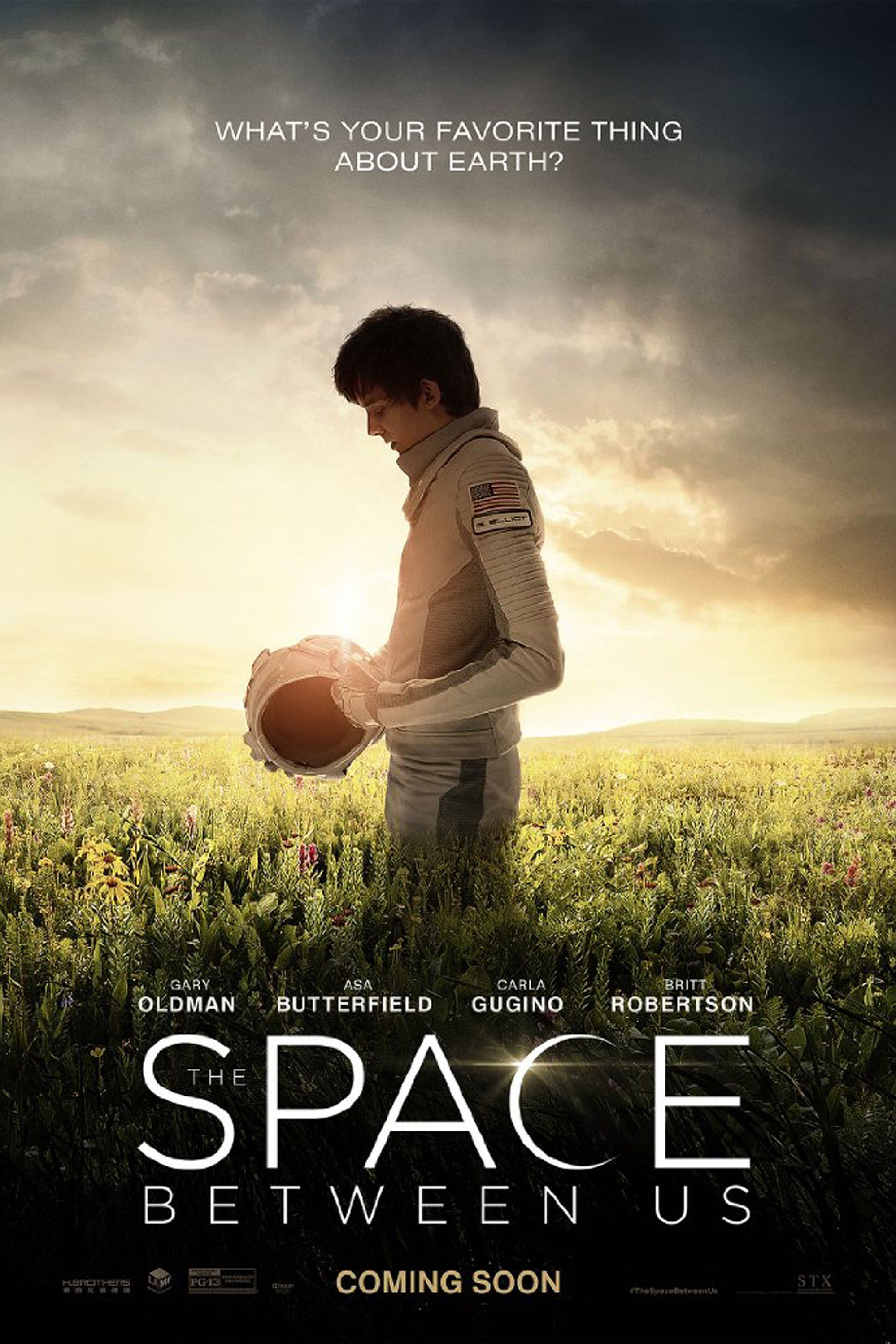 The Space Between Us Trailer A Martian Born Teenager Explores
