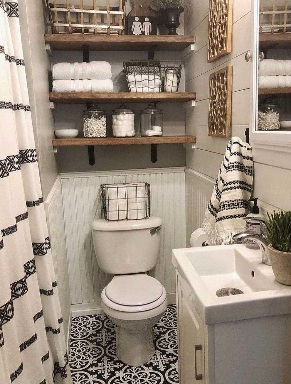 9 Small Bathroom Rustic Design Ideas