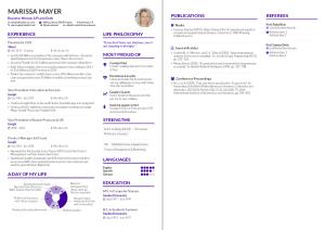 Cv Template Overleaf Resume Format Curriculum Vitae Template Resume Templates Cv Template