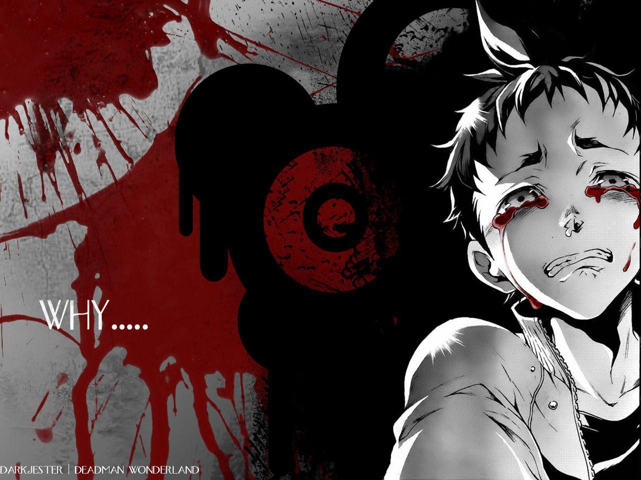 Anime Deadman Wonderland Fondo De Pantalla Deadman