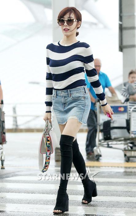 [★포토]티파니, '자신감 넘치는 공항 런웨이'