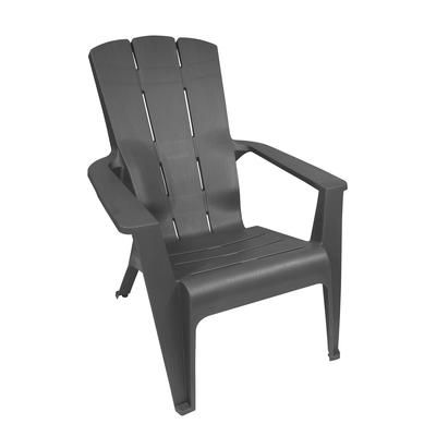 Gracious Living Grey Contour Adirondack Chair 11483 26 Home