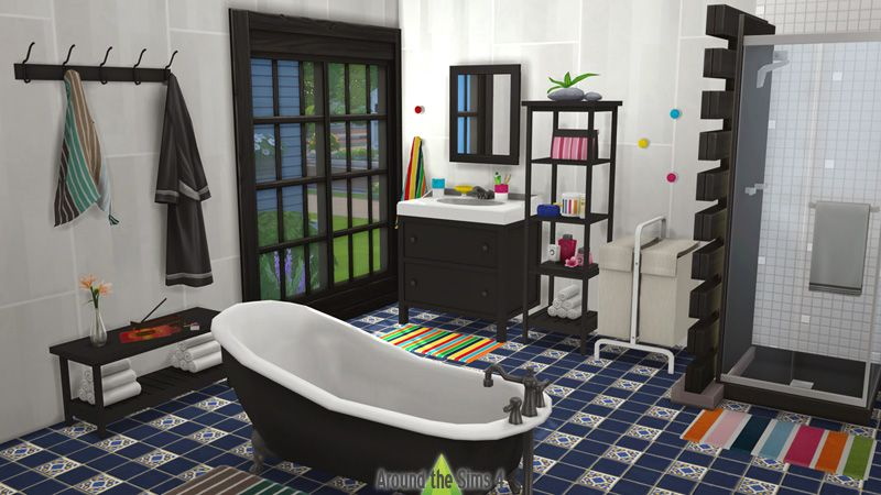 IKEA Bathroom by Around the Sims 4. | Sims 4 cc | Around the sims 4 ...