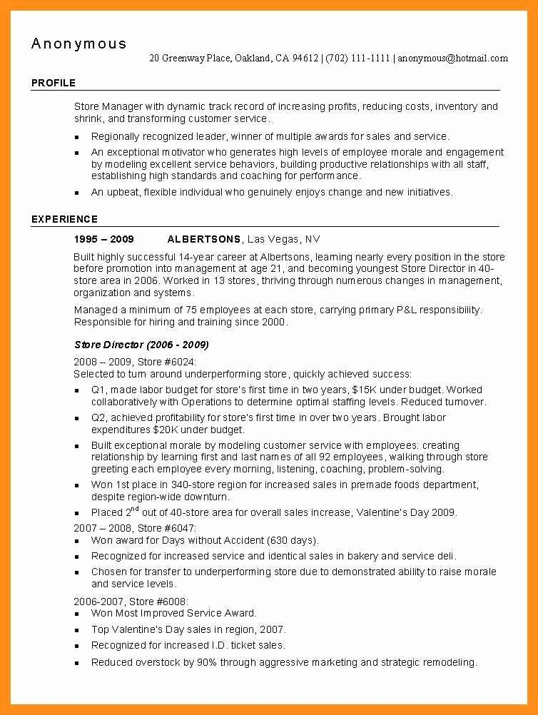 Kitchen Manager Job Description Resume Beautiful 12 13