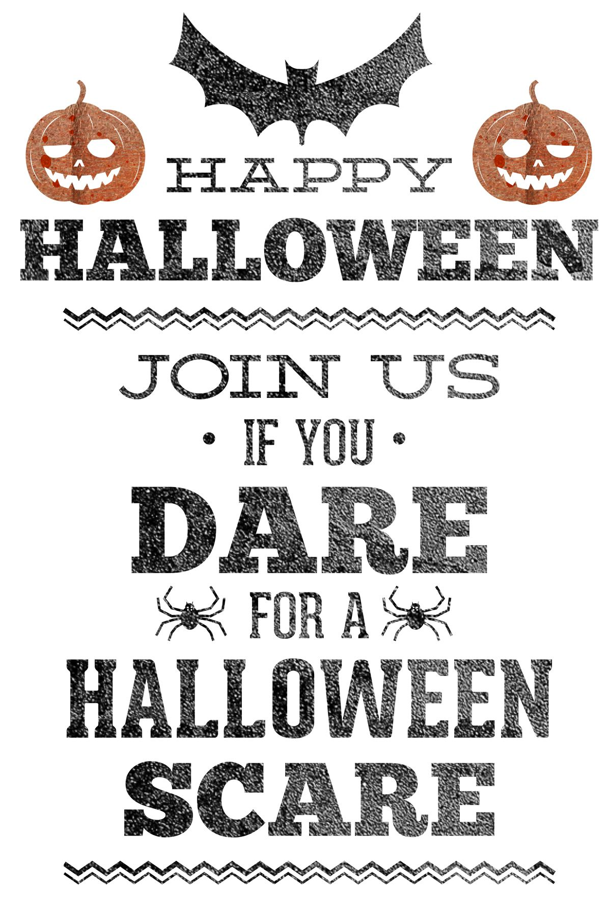 Free Printable Halloween Party Invitation Printables 2