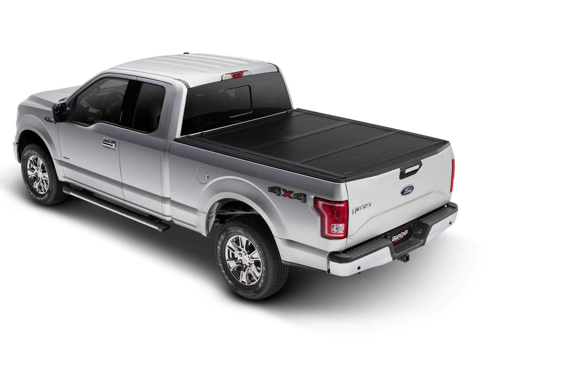 Requiring No Drilling The Hard Folding Undercover Flex Truck Bed Cover Is One Of The Strongest There Is It Is The Mo Tonneau Cover Truck Bed Truck Bed Covers