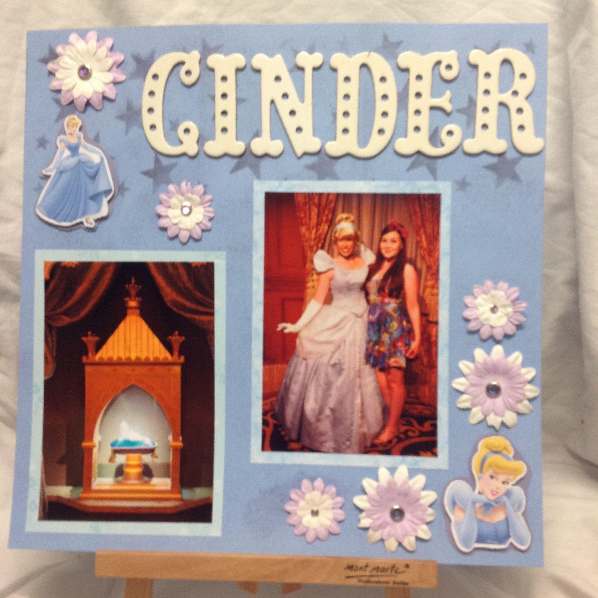 Phoebe with Cinderella