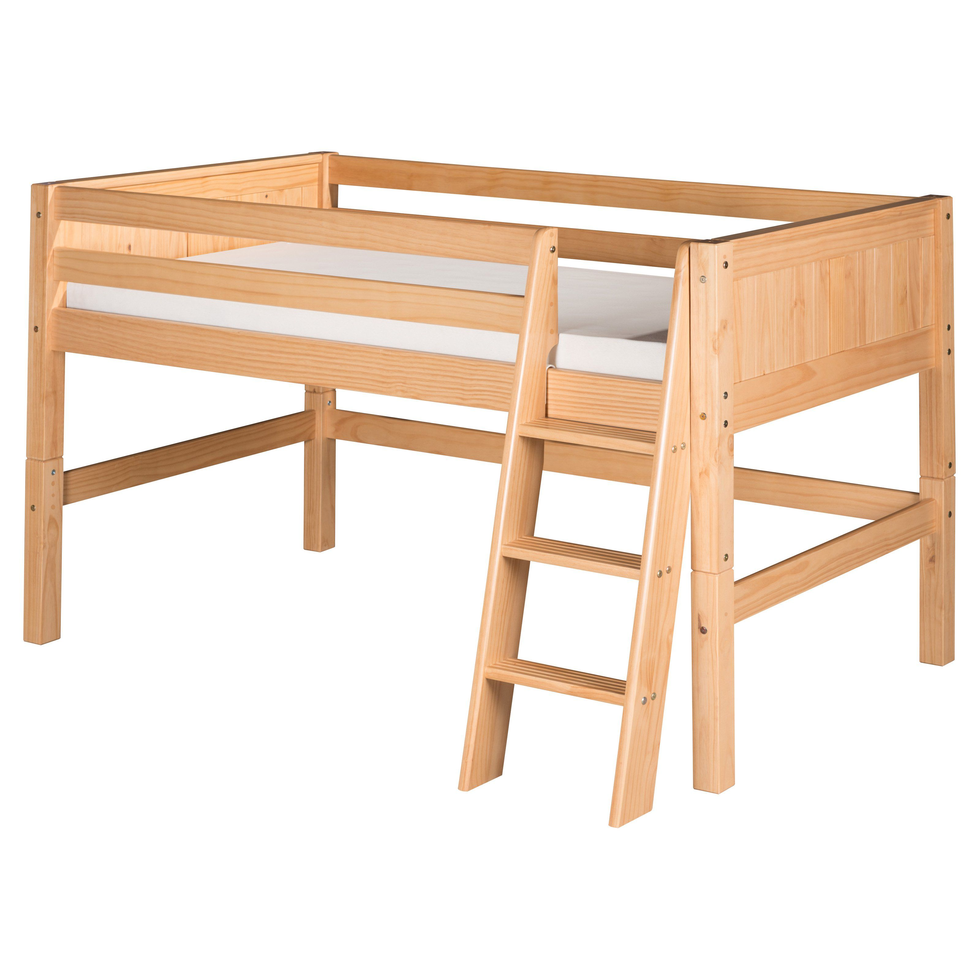 Camaflexi Panel Headboard Low Loft Bed Make The Most Of E In Your Child S Bedroom And Add Fun With