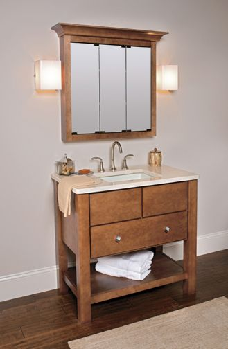 Medicine Cabinet   Wellborn   Upton, Milan Maple, Chestnut
