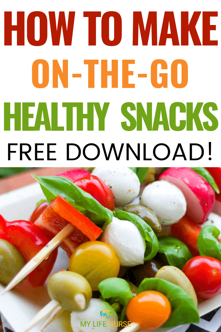 How To Make Healthy Snacks for People On-the-Go! images
