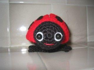 Ladybug for Mom - We Love Amigurumi
