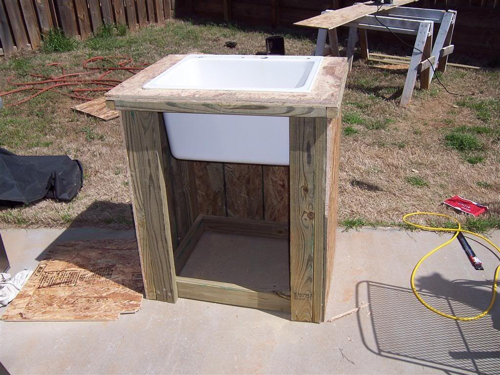 Build A Outdoor Sink Home Brew Forums Garden Sink Outdoor