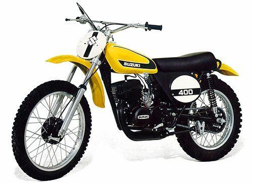 Vintage Suzuki Dirt Bike Parts
