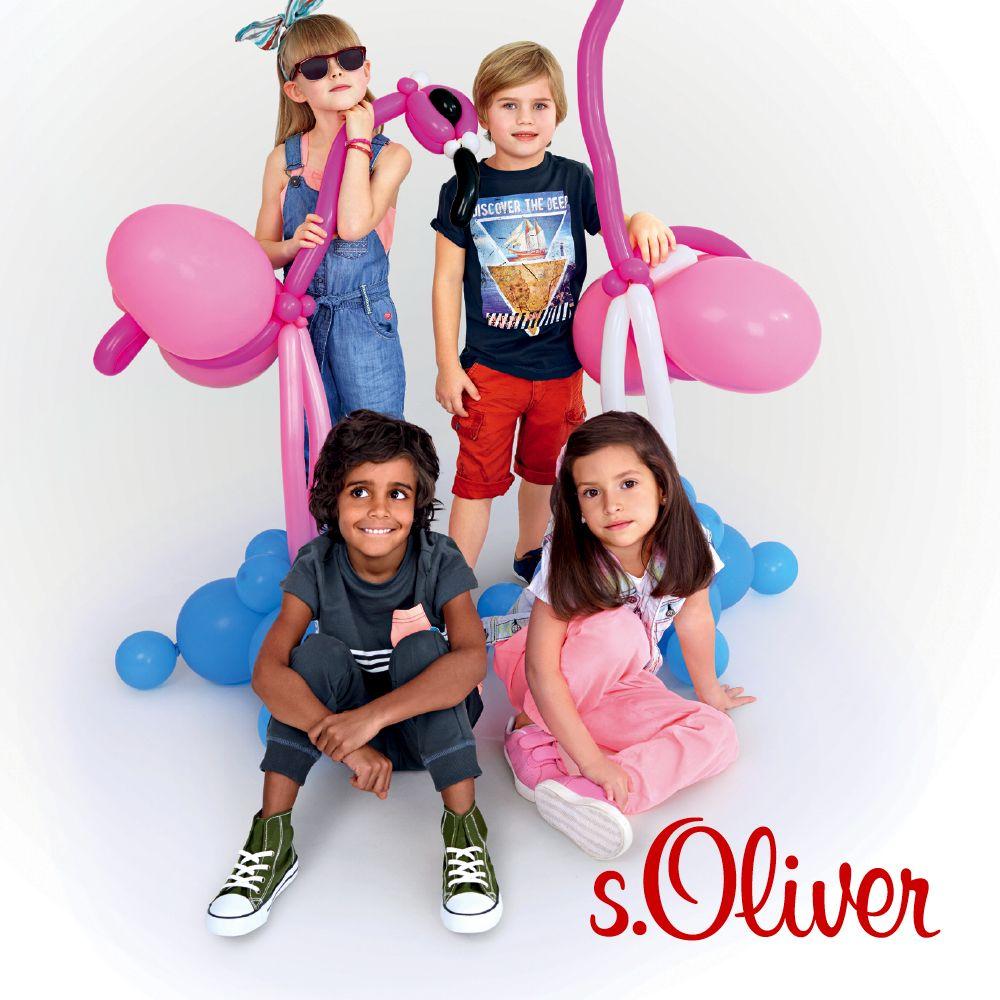s.Oliver Junior Collection - Spring / Summer 2014. More @ www.soliver.com