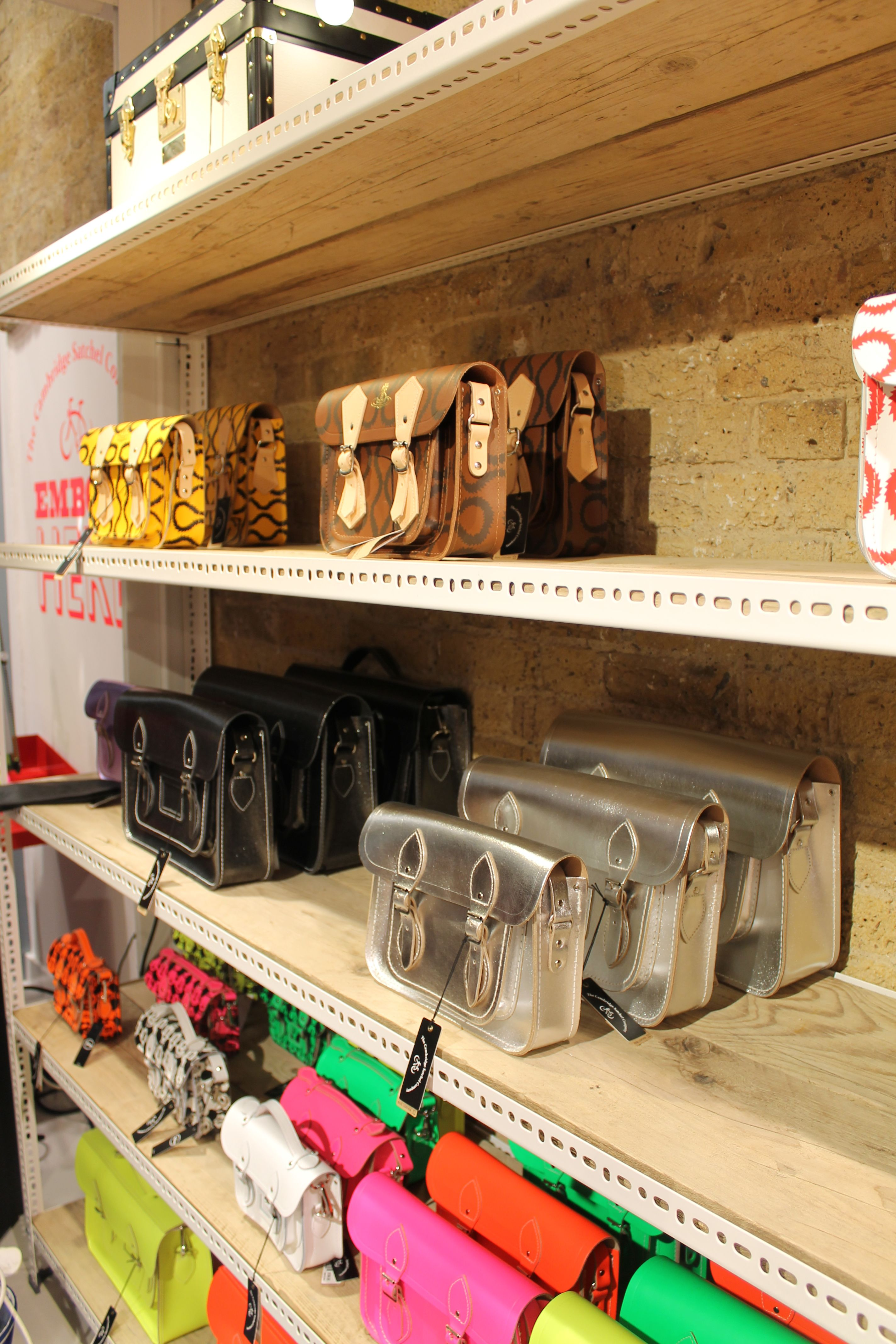 The Cambridge Satchel Company Spitalfields Pop-Up Store