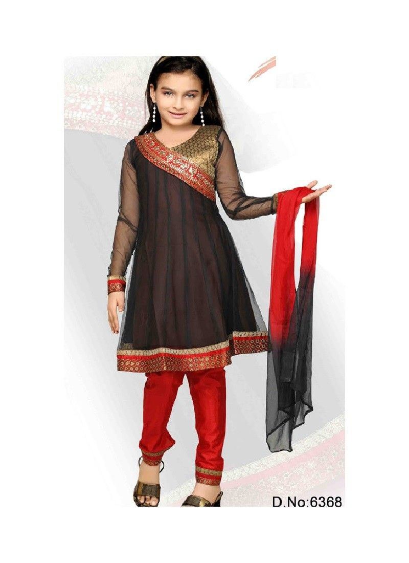 Buy all latest kids half sarees kids salwar kameez designer kids kurtis online through for How to design salwar kameez at home