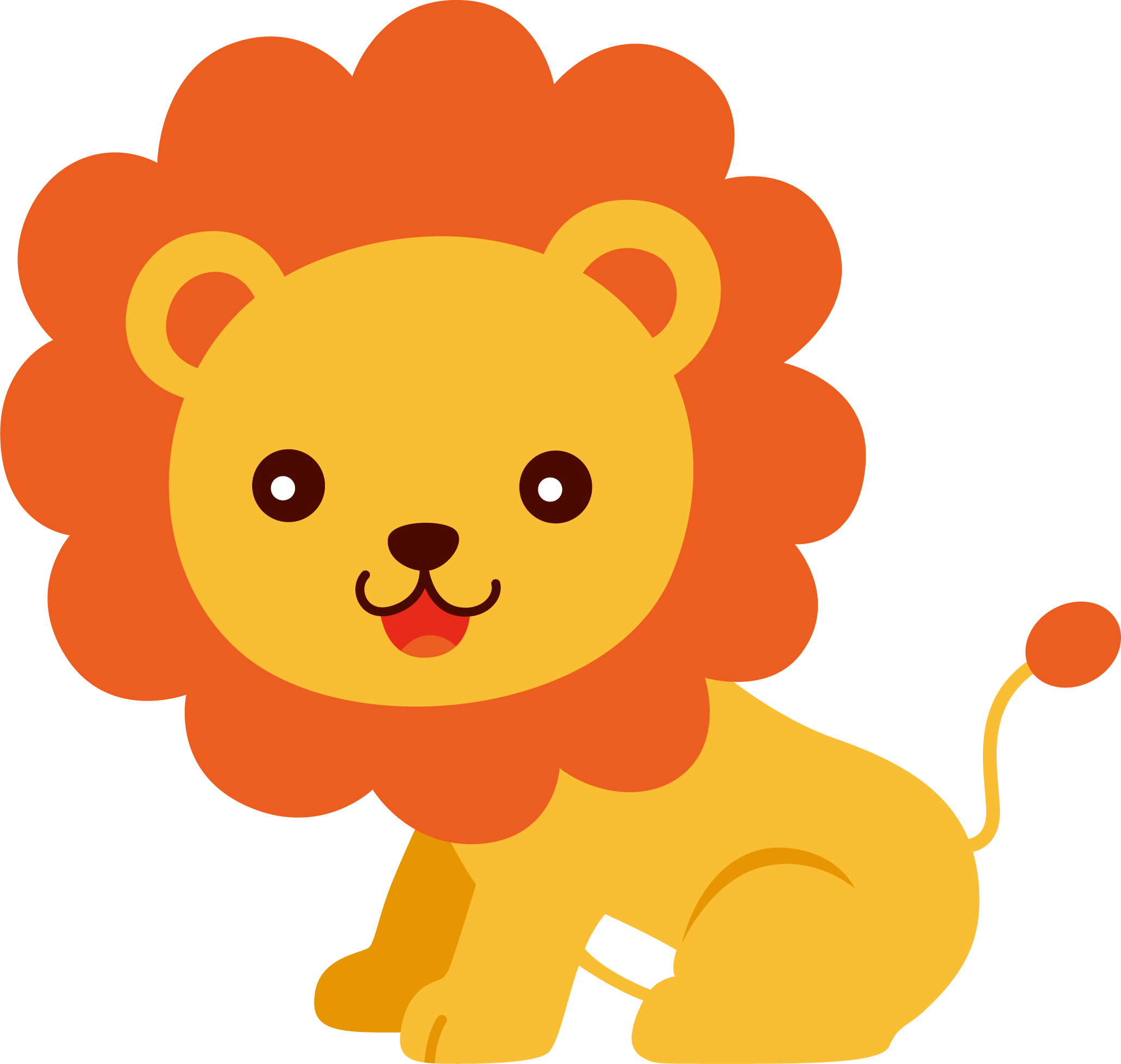 Lion Baby Animal Clip Art