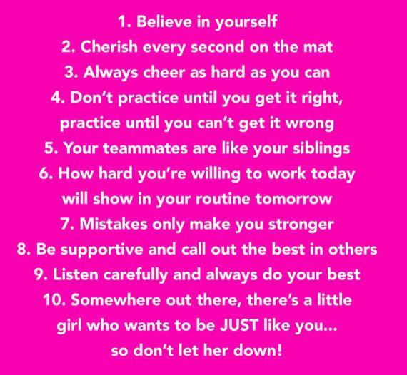 Cheerleader Rules Instant Digital Download by StevieDraperDesign - cheerleading tryout score sheet