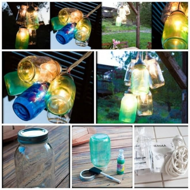 Photo of Do-it-yourself atmosphere: gardens and terraces light up with the recycling design