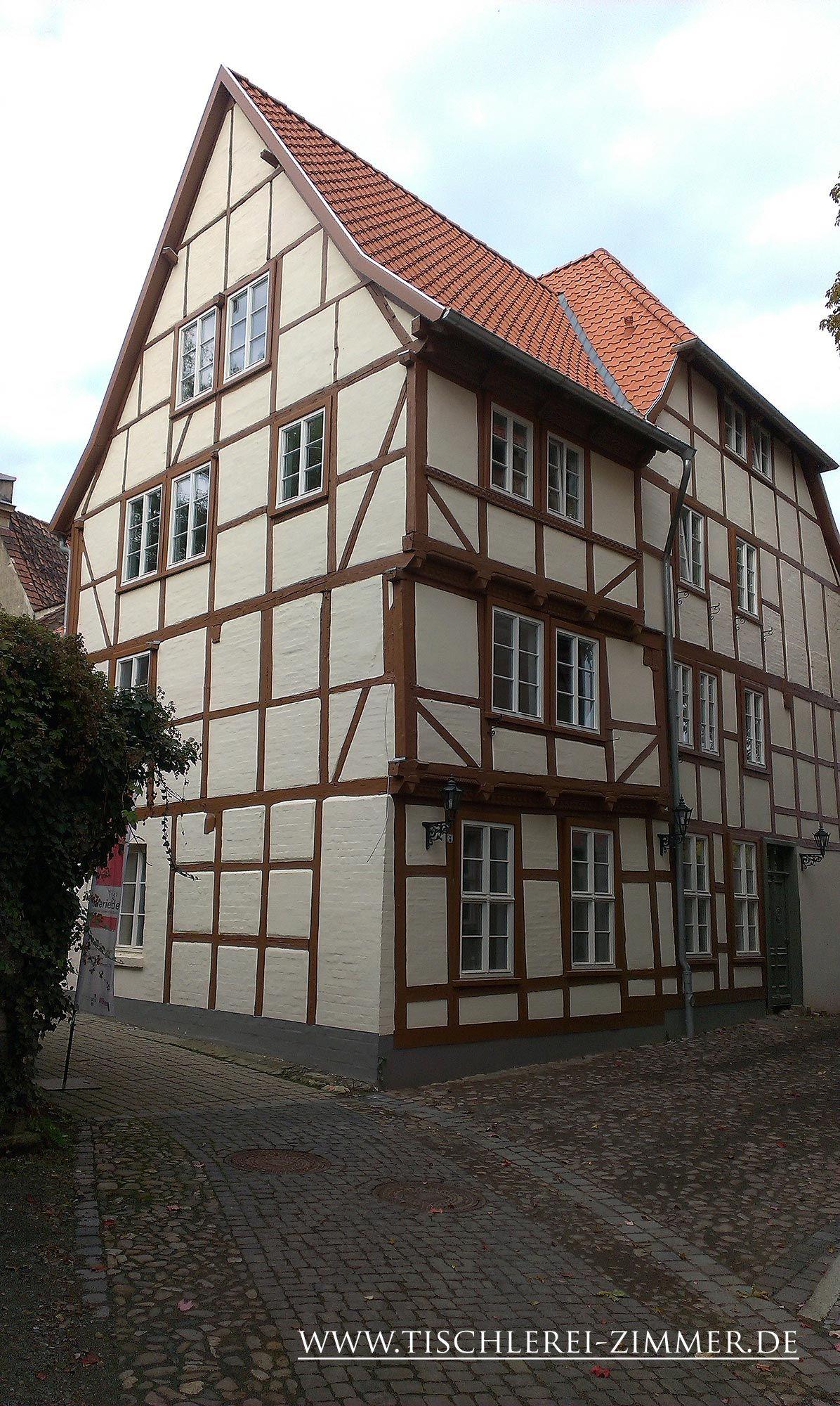 altes Fachwerkhaus in Quedlinburg mit