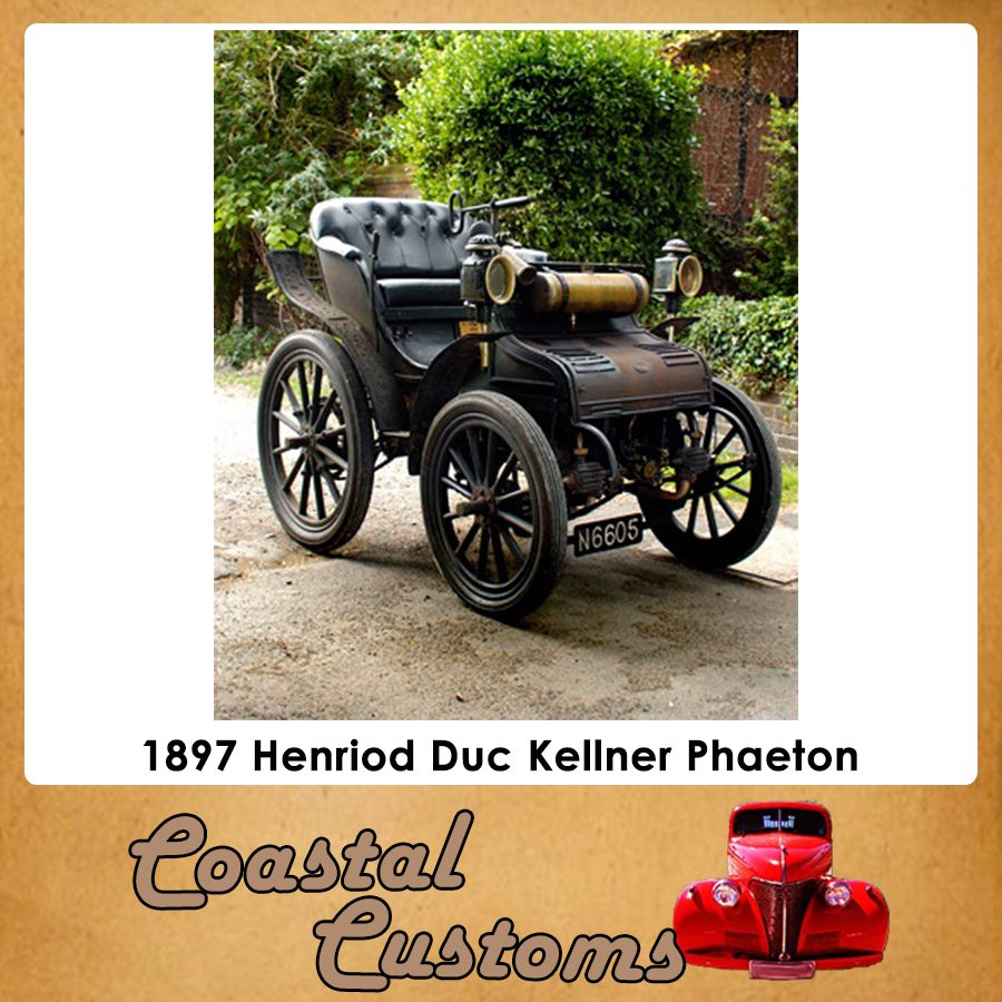 Very Old Cars! 1897 Henriod Duc Kellner Phaeton Owner: Roy Fisher ...