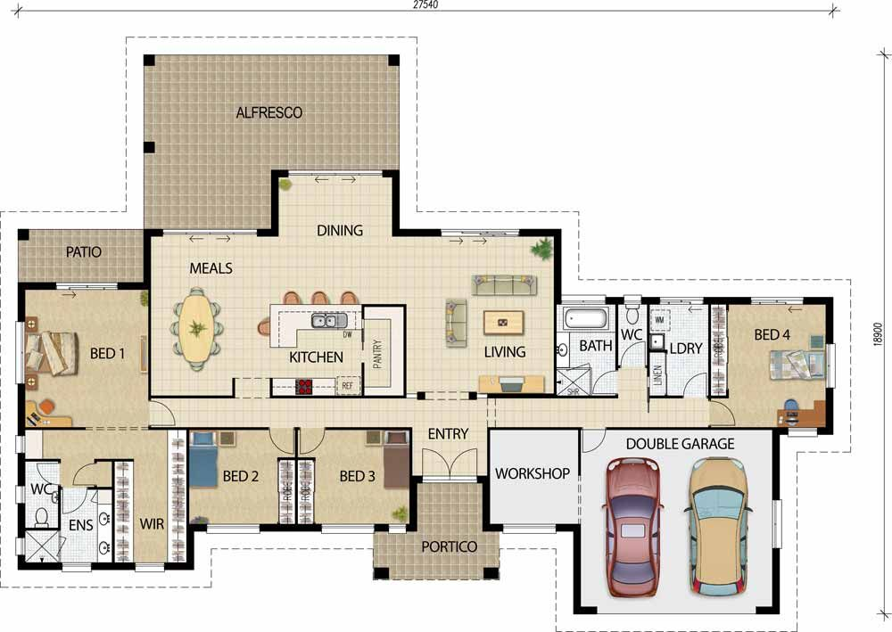 Acreage Designs House Plans Queensland House Plans Australia Building Plans House Country House Design