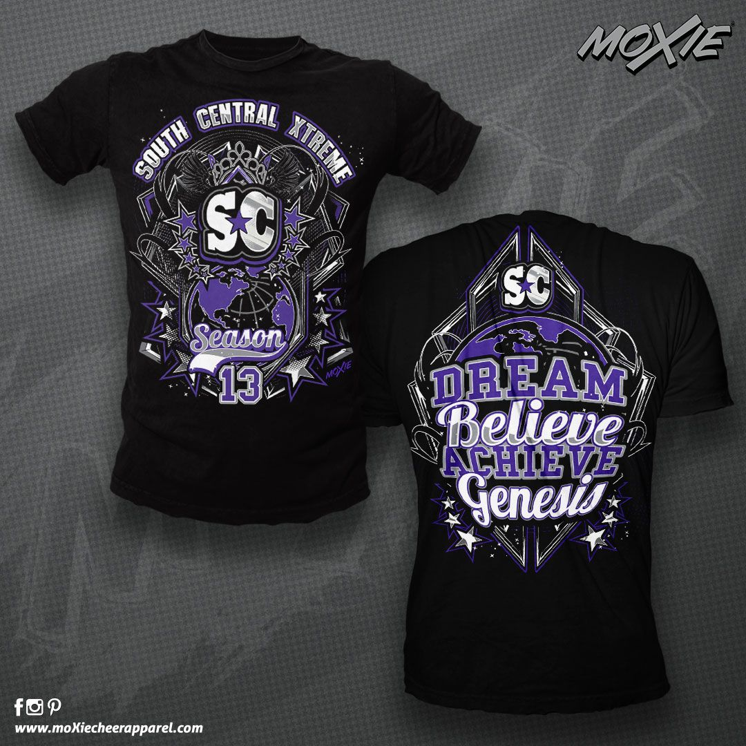South Central Xtreme Custom Cheer Tshirt by moXie cheer ...