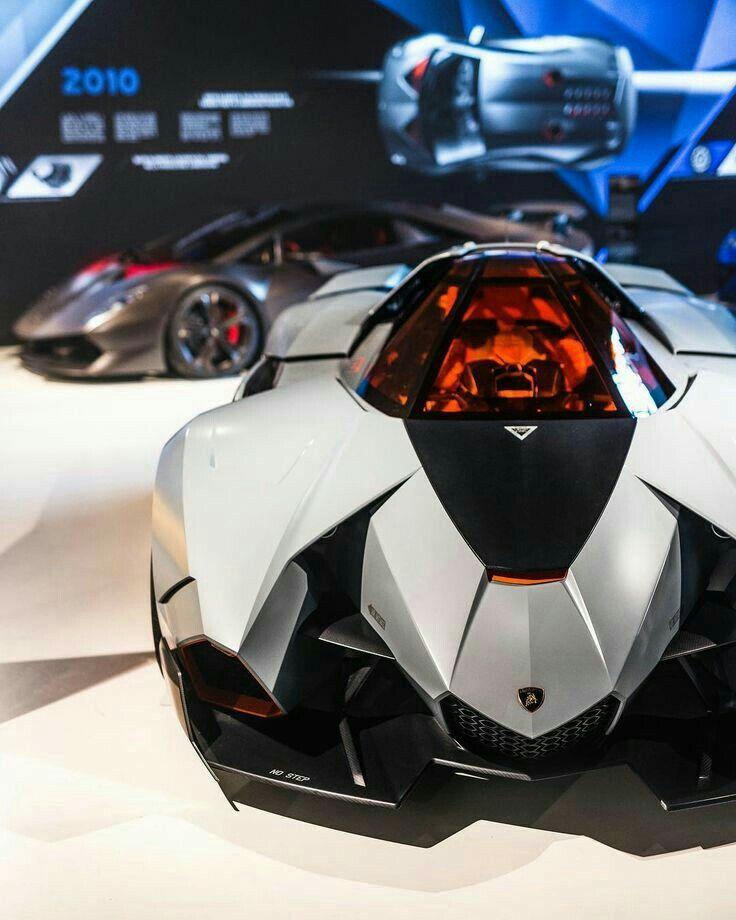Lamborghini Egoista Concept Car Black: Lamborghini, Concept Cars