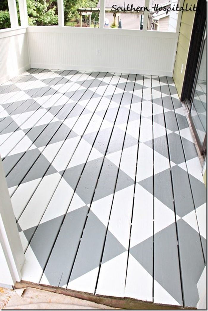 Diy To Try Painted Front Porch Floor