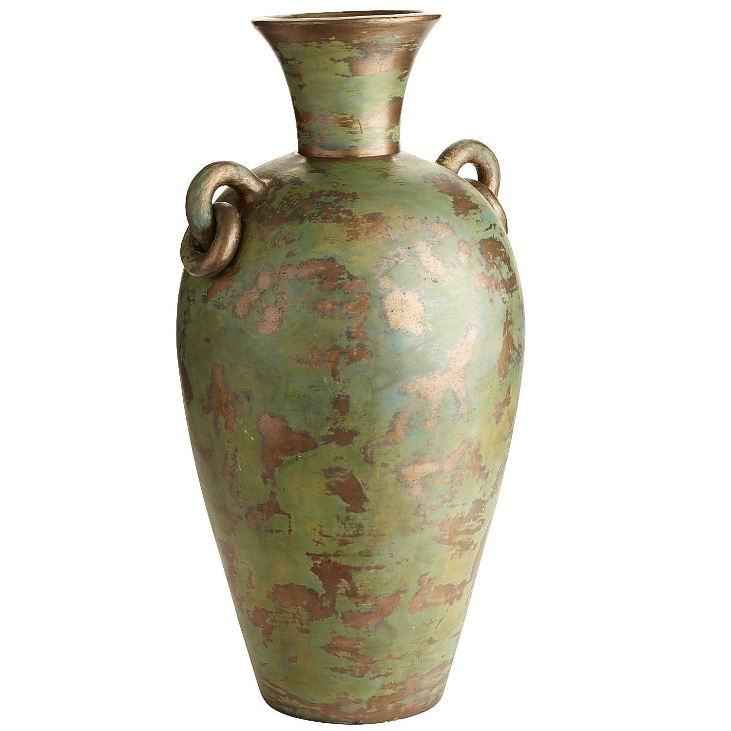 Patina floor vase decor vases pinterest terracotta floor patina floor vase reviewsmspy