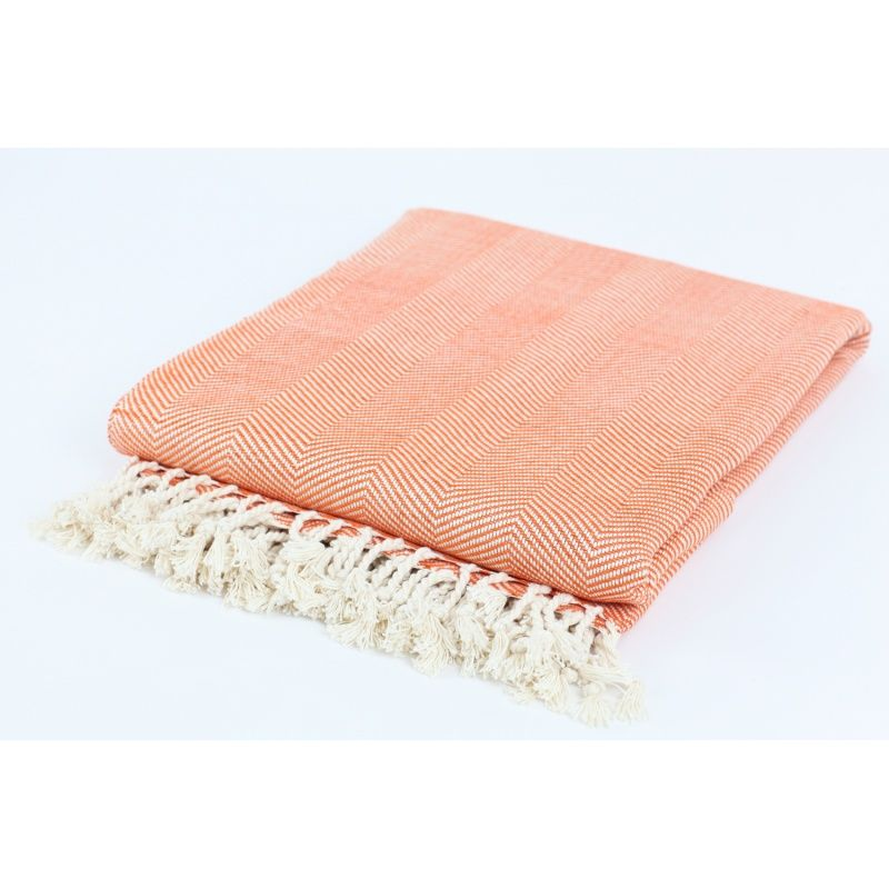 Peach Colored Couch Throw Orange Throw Blanket For The Home Extraordinary Peach Colored Throw Blanket